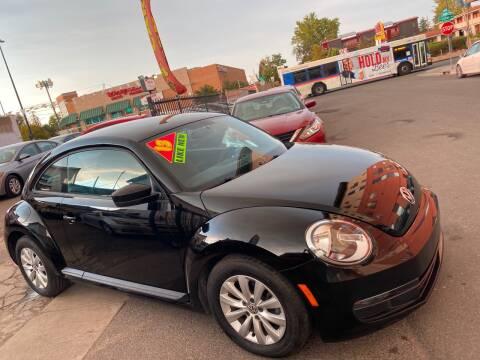 2013 Volkswagen Beetle for sale at Sanaa Auto Sales LLC in Denver CO