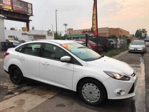 2013 Ford Focus for sale at Sanaa Auto Sales LLC in Denver CO