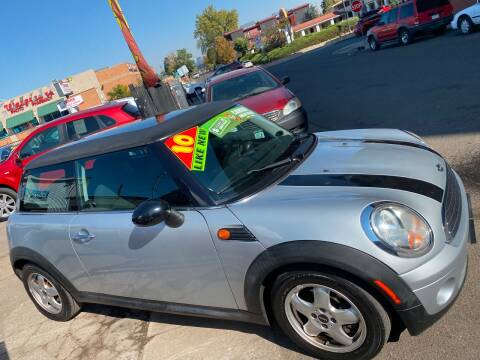 2010 MINI Cooper for sale at Sanaa Auto Sales LLC in Denver CO