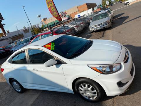 2015 Hyundai Accent for sale at Sanaa Auto Sales LLC in Denver CO