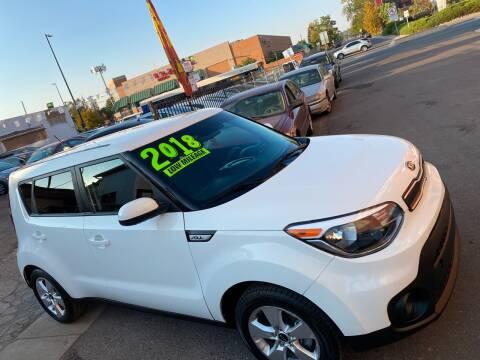 2018 Kia Soul for sale at Sanaa Auto Sales LLC in Denver CO