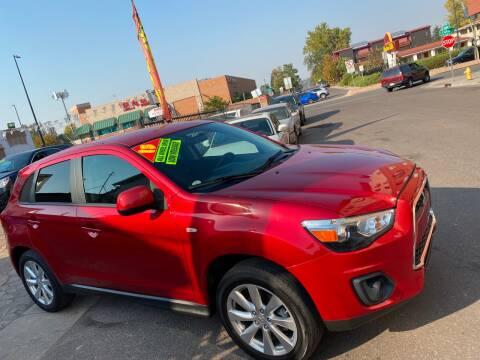 2015 Mitsubishi Outlander Sport for sale at Sanaa Auto Sales LLC in Denver CO