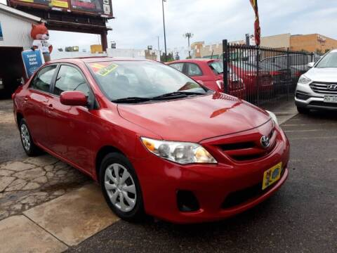 2011 Toyota Corolla for sale at Sanaa Auto Sales LLC in Denver CO