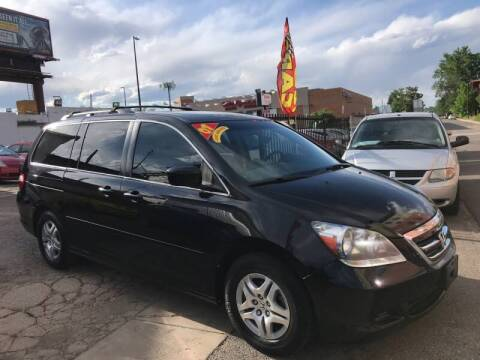 2007 Honda Odyssey for sale at Sanaa Auto Sales LLC in Denver CO