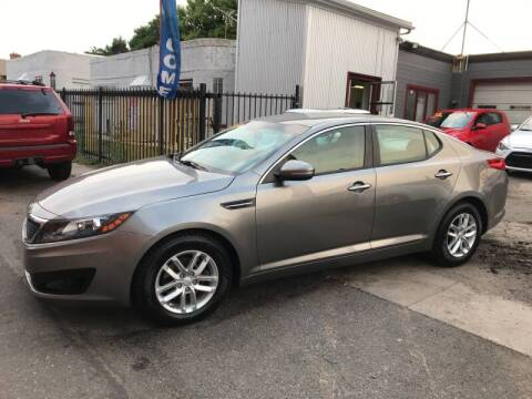 2012 Kia Optima for sale at Sanaa Auto Sales LLC in Denver CO
