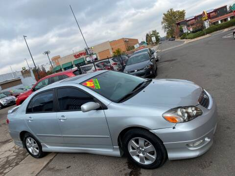 2007 Toyota Corolla for sale at Sanaa Auto Sales LLC in Denver CO