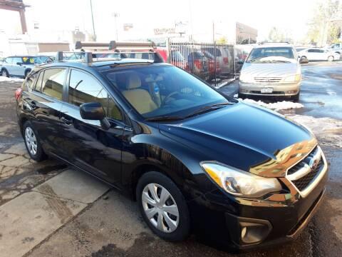 2012 Subaru Impreza for sale at Sanaa Auto Sales LLC in Denver CO