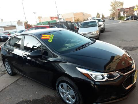 2018 Chevrolet Cruze for sale at Sanaa Auto Sales LLC in Denver CO