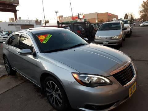 2013 Chrysler 200 for sale at Sanaa Auto Sales LLC in Denver CO