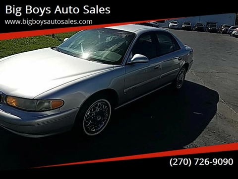 2001 Buick Century for sale at Big Boys Auto Sales in Russellville KY
