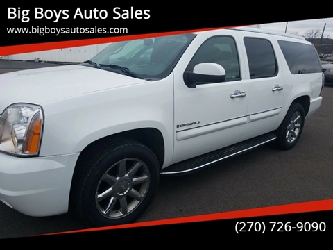 2007 GMC Yukon XL for sale at Big Boys Auto Sales in Russellville KY