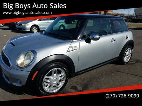 2007 MINI Cooper for sale at Big Boys Auto Sales in Russellville KY
