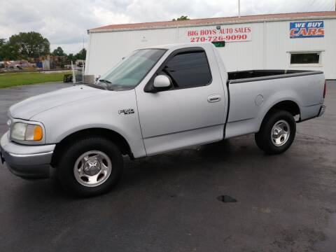 2002 Ford F-150 for sale at Big Boys Auto Sales in Russellville KY