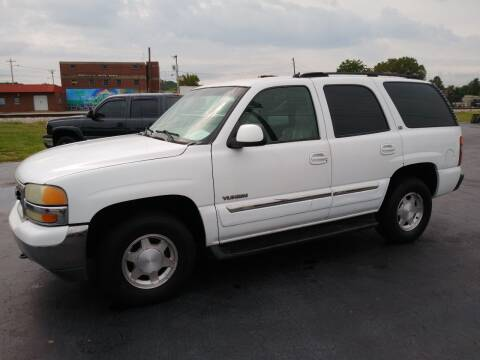 2003 GMC Yukon for sale at Big Boys Auto Sales in Russellville KY