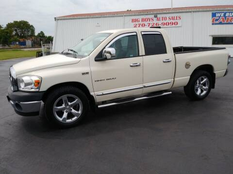 2007 Dodge Ram Pickup 1500 for sale at Big Boys Auto Sales in Russellville KY