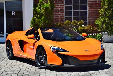 Mclaren For Sale >> 2015 Mclaren 650s Spider For Sale In Beverly Hills Ca