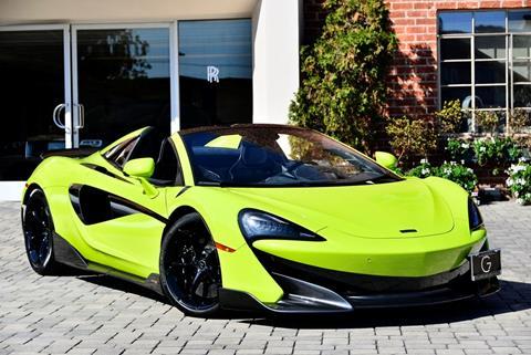 2020 McLaren 600LT Spider for sale in Beverly Hills, CA