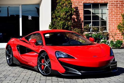 2019 McLaren 600LT for sale in Beverly Hills, CA