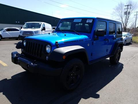 2016 Jeep Wrangler Unlimited for sale in Parsippany, NJ
