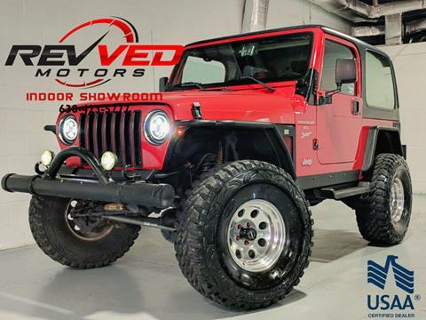 2001 Jeep Wrangler for sale in Addison, IL