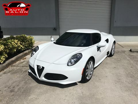 alfa romeo 4c for sale in deland, fl - carsforsale®