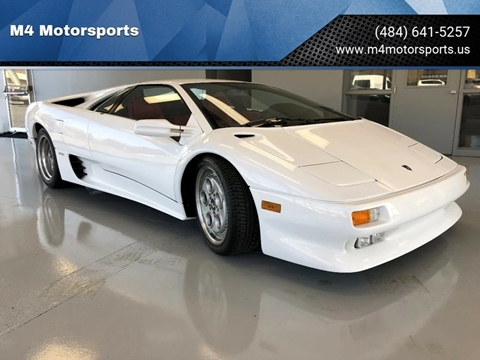 Used 1991 Lamborghini Diablo For Sale In El Dorado Ar Carsforsale