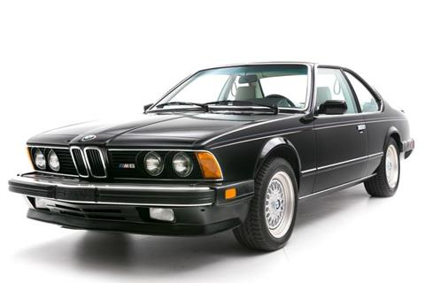 Used 1987 Bmw M6 For Sale Carsforsalecom