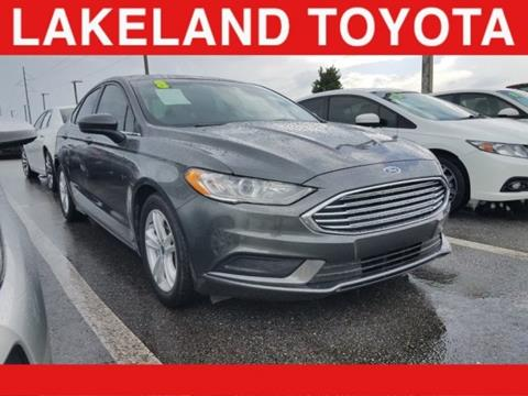 2018 Ford Fusion for sale in Tampa, FL