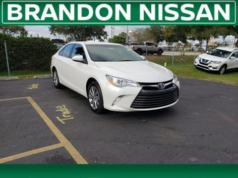 2016 Toyota Camry for sale in Tampa, FL