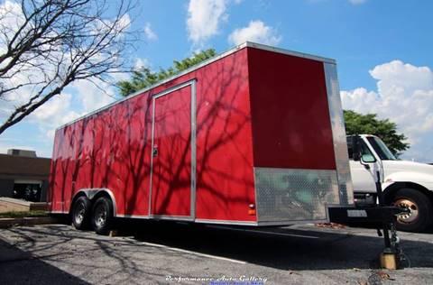 2016 Covered Wagon V-Nose Enclosed Car Hauler for sale in Gaithersburg, MD