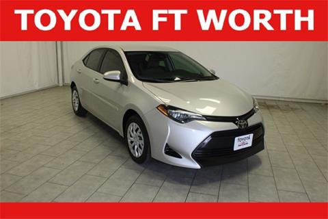 2018 Toyota Corolla for sale in Fort Worth, TX