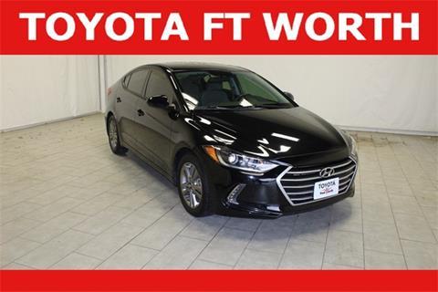 2017 Hyundai Elantra for sale in Fort Worth, TX