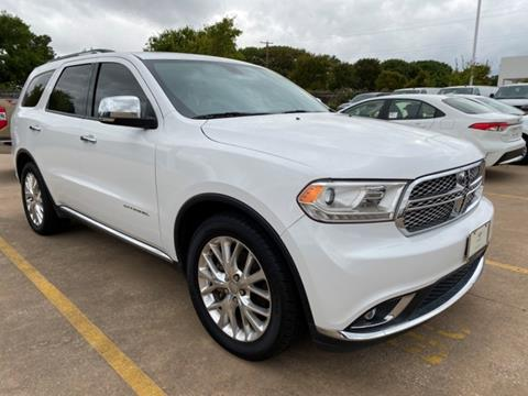 2015 Dodge Durango for sale in Fort Worth, TX