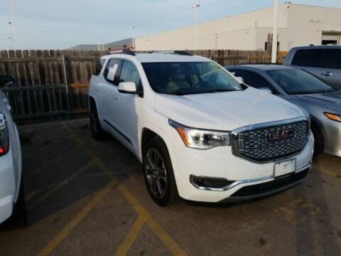 2019 GMC Acadia for sale in Fort Worth, TX