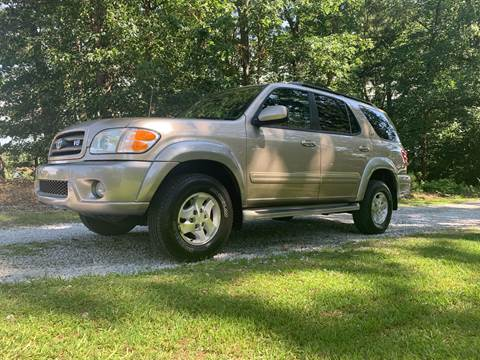2003 Toyota Sequoia for sale at Madden Motors LLC in Iva SC
