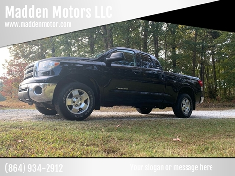 2011 Toyota Tundra for sale at Madden Motors LLC in Iva SC