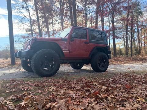 2011 Jeep Wrangler for sale at Madden Motors LLC in Iva SC