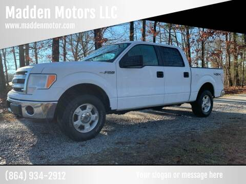 2013 Ford F-150 for sale at Madden Motors LLC in Iva SC