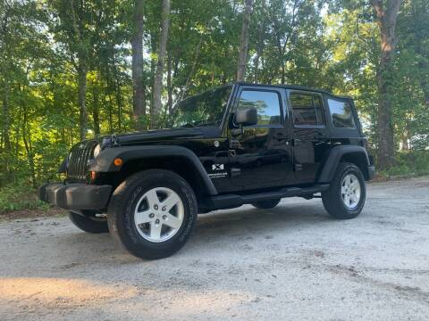 2008 Jeep Wrangler Unlimited for sale at Madden Motors LLC in Iva SC