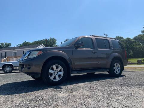 2008 Nissan Pathfinder for sale at Madden Motors LLC in Iva SC
