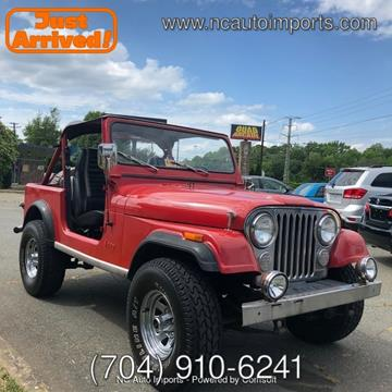 1985 Jeep CJ-7 for sale in Charlotte, NC