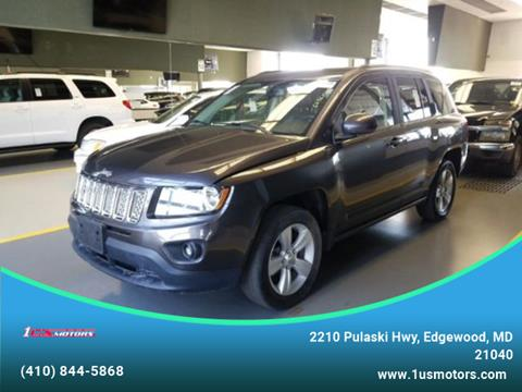 2016 Jeep Compass for sale in Edgewood, MD