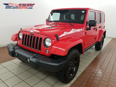 2015 Jeep Wrangler Unlimited for sale in Walpole, MA