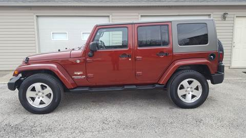 2008 Jeep Wrangler Unlimited for sale in Yorktown, IN