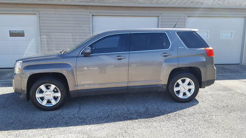 2012 GMC Terrain for sale at Sunset Motors 1 LLC in Yorktown IN