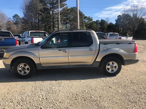 2002 Ford Explorer Sport Trac for sale at Delta Motors LLC in Jonesboro AR