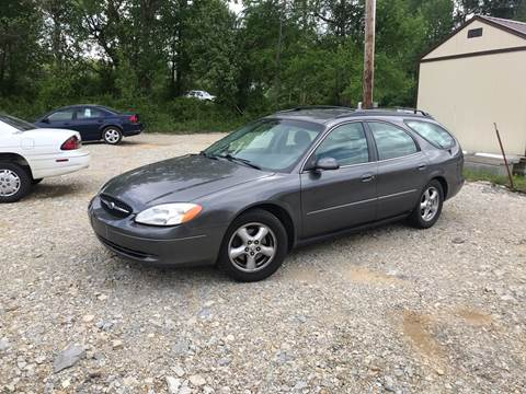 2002 Ford Taurus for sale at Delta Motors LLC in Jonesboro AR