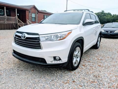 2016 Toyota Highlander for sale at Delta Motors LLC in Jonesboro AR