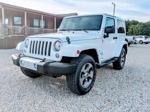 2017 Jeep Wrangler for sale at Delta Motors LLC in Jonesboro AR