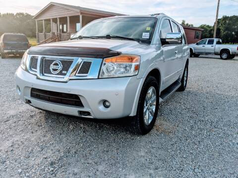 2012 Nissan Armada for sale at Delta Motors LLC in Jonesboro AR